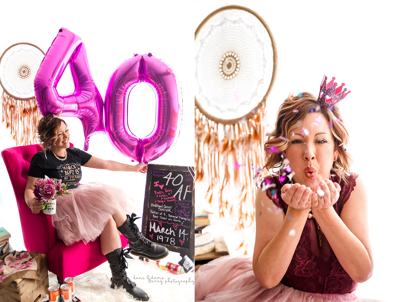 Adult Cake Smash Photo Shoot Dallas Tx